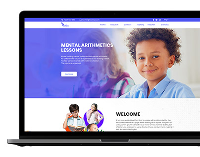 Yoshlar School-Web site
