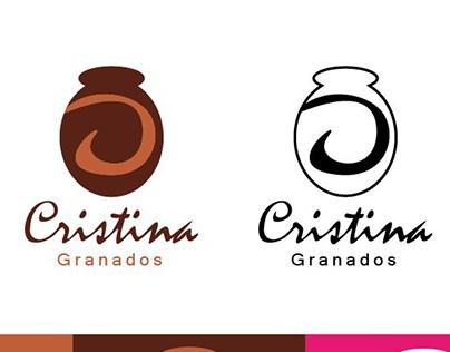 LOGOTIPO y Potafolio Cristina Granados