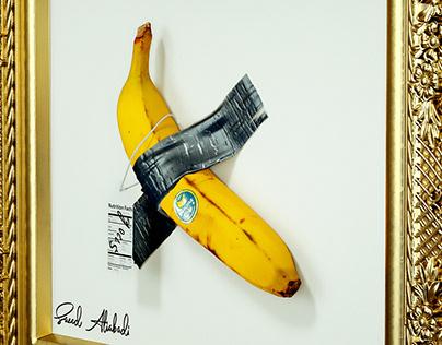 Banana Artwork (C4d - Octane - AE - PS)