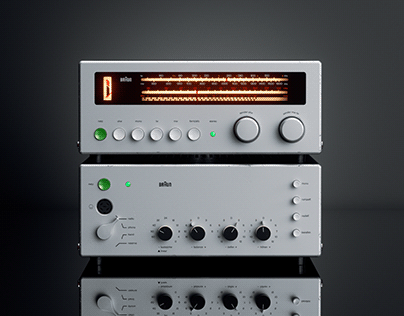 ▼▲ Once In A While Renders № 49 Braun CE 500 & CSV300