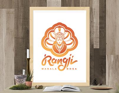 Logotype for indian restaurant