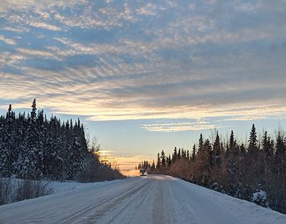 Northern Lights RoadTrip.