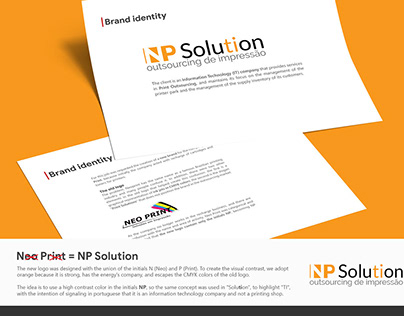 NP Solution - Brand Identity