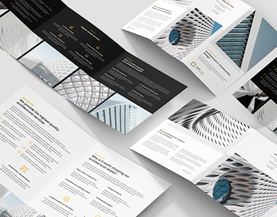 Architect – Brochures Bundle Print Templates