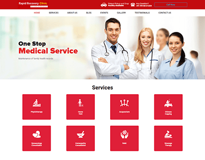 Rapidrecovery.clinic - Online Based Medical Service