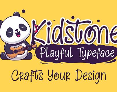 Kidstone – Cute Typeface
