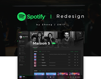 Spotify - Redesign