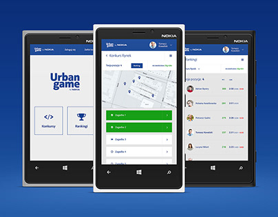 Urban Game by Nokia - Mobile App