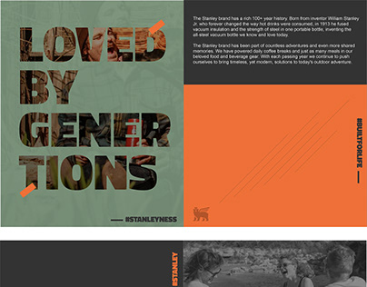 Amazon A+ Pages Content Designs for STANLEY.
