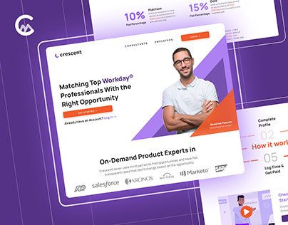 Crescent - Webdesign