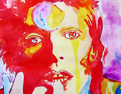 David Bowie - Watercolour