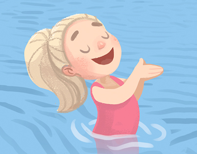 "Children's book ""Caroline goes canoeing"""