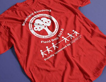 Brookfield Academy Field Day T-Shirt Design