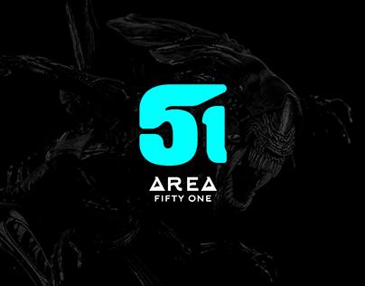Area 51 Brand Identity