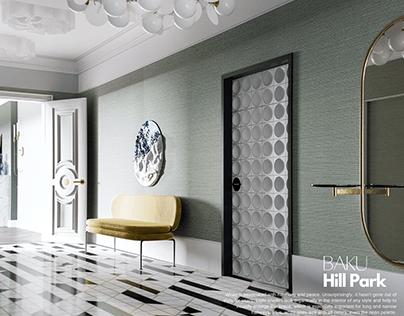 Baku, Hall design