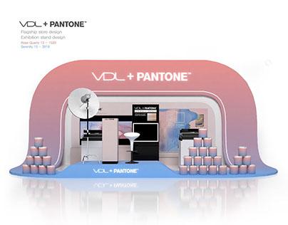 VDL+PANTONE - Pop-up store