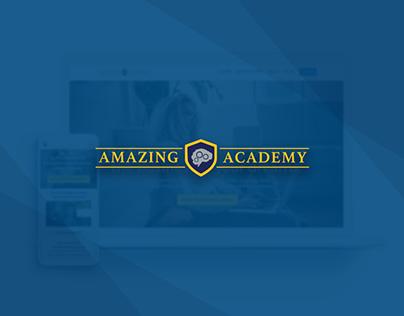 Amazing Academy Web Redesign