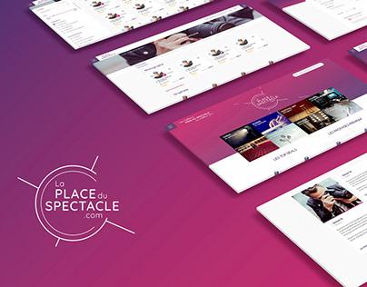 Web design La place du spectacle .com