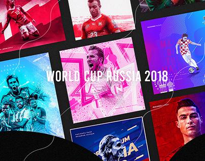 World Cup Russia 2018 Artwork