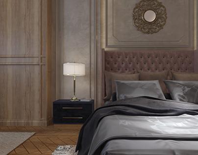 Vitage Neo-classic Master Bedroom ..