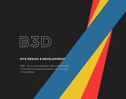B3D - CG platform