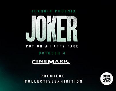 JOKER MOVIE EXHIBITION CINEMARK