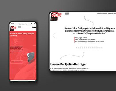 WebDesign – RMS Metalwork
