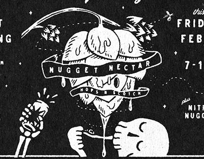 Tröegs Nugget Nectar Chalkboard