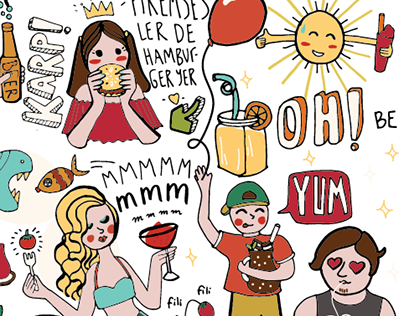 Illustration for Emel'in Bahcesi Cafe