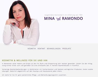 Simple onepage website