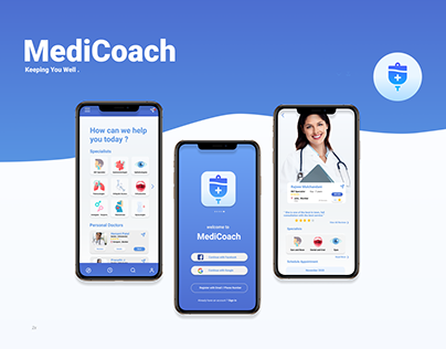 MediCoach | Appointments Booking App