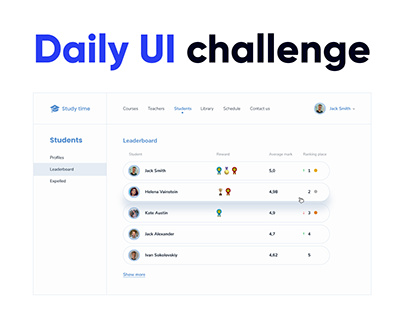 Daily UI challenge   UX/UI design
