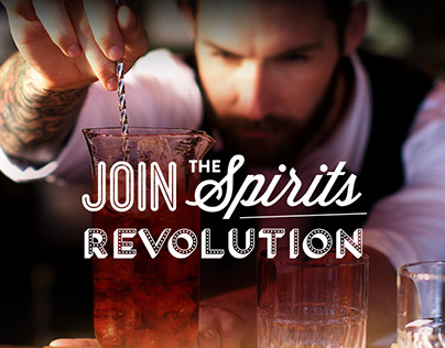 Diageo: Join the spirits revolution, website