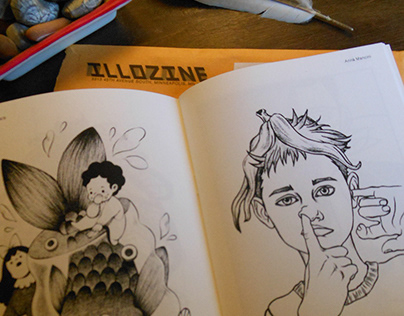 ILLOZINE MAGAZINE N°26 - the GROSS!