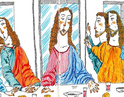 """Leonardo da Vinci """"Son Akşam Yemeği"""""""