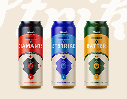 Strike Brewing Co. BEERS | Packaging