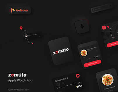 Zomato - Apple App UI Concept