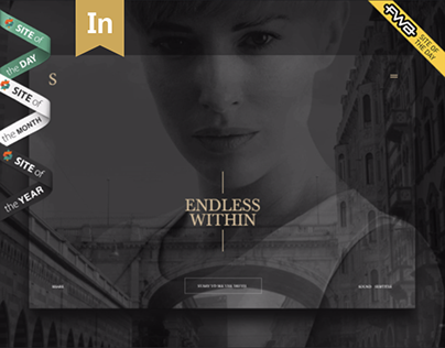 Silenza, Interactive Brand Site, FWA, Awwwwards holder