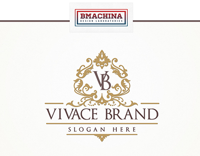 Vivace Brand is a Luxury Logo ideal for classy business