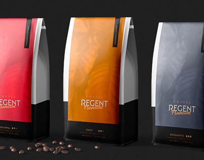 Regent Coffee • Packaging Design