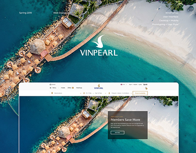 Vingroup: Vinpearl UI/UX Design