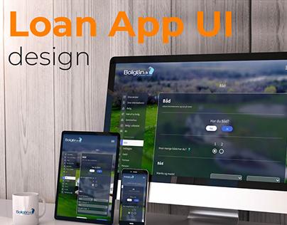 Loan App UI Design