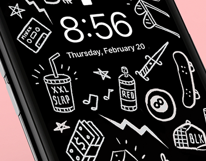 Abraham - iPhone & Apple watch wallpaper designs