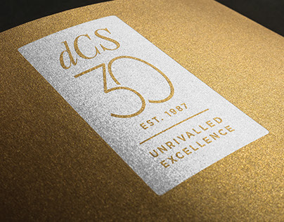 dCS 30th Anniversary Branding