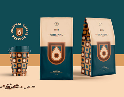 Original Coffee Roaster - Identity & Packaging