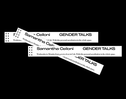 Gender Talks event