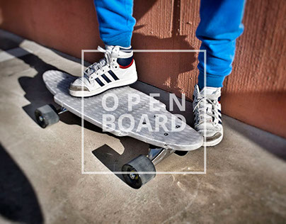 OPEN BOARD 3D Print Skateboard Open Source