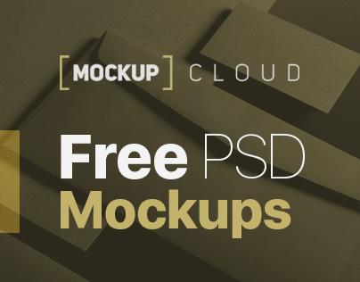 Free PSD Mock-Up's