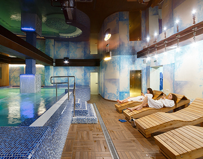"""""""Goral"""" hotel and spa. Spa"""