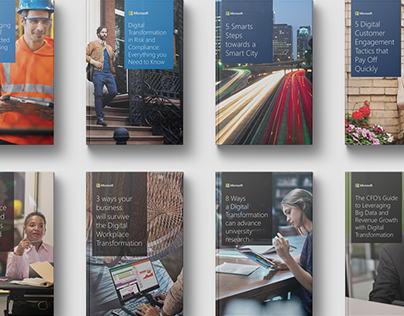 Series of 12 ebooks for business owners